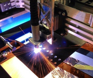 Home Built 4x8ft CNC Plasma Metal Cutting System