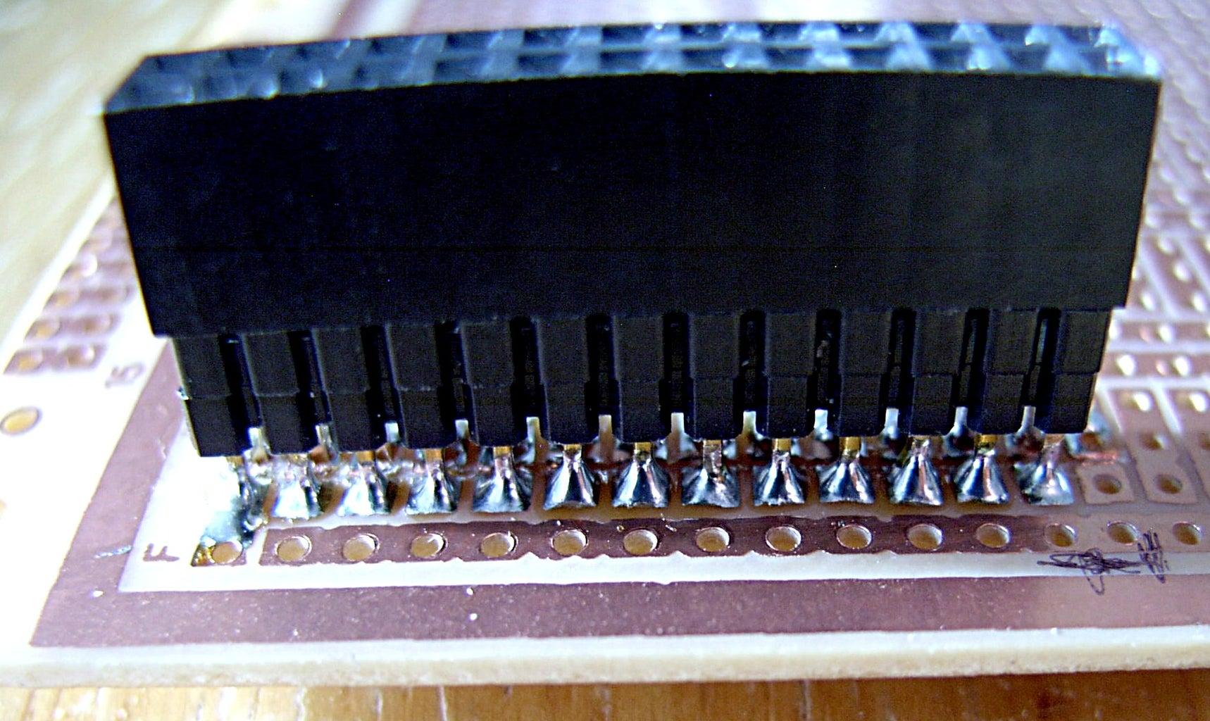 Building the Board [1]: Installing the GPIO Header