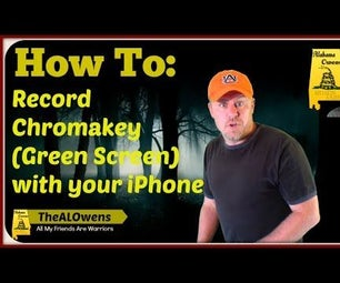 How to Record a Chromakey (Green Screen) Video on an IPhone