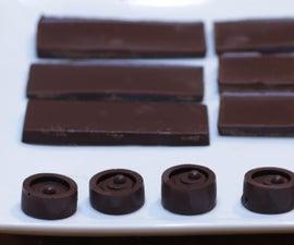 三种成分巧克力