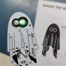 Yet Another Badge, a Ghost Badge Made From 555 Timer IC