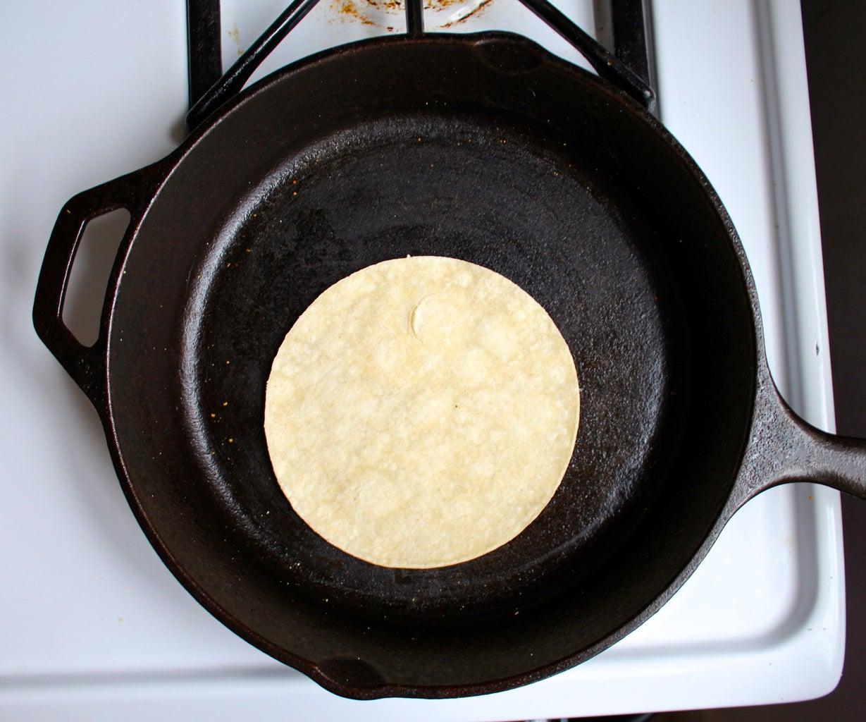 A Tip for Pliable Tortillas