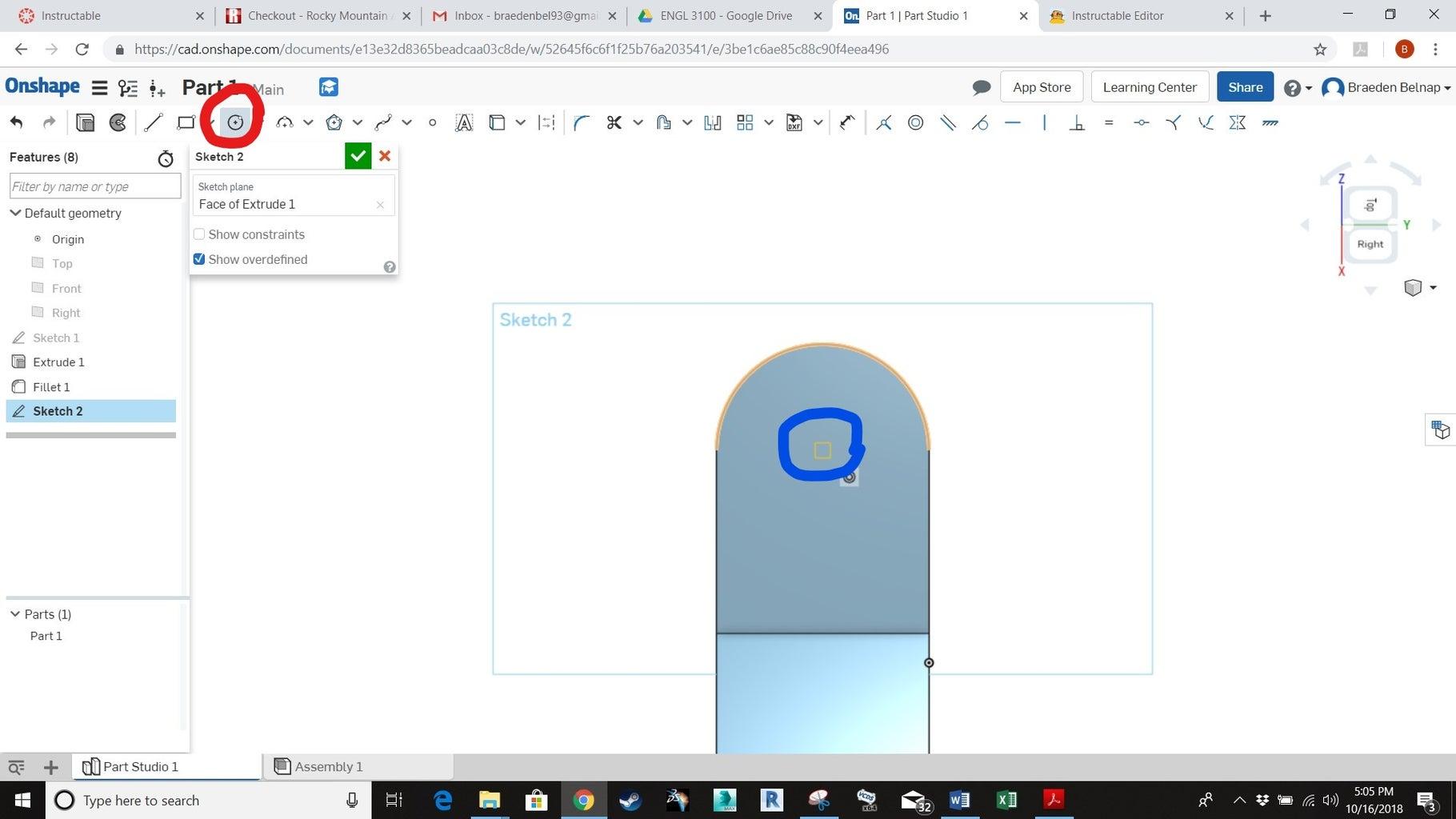 Adding Holes: Part 1