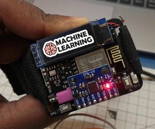 Machine Learning Based Gesture Detection Watch (ESP8266)