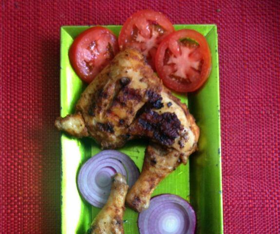 Spicy Grilled Chicken Legs