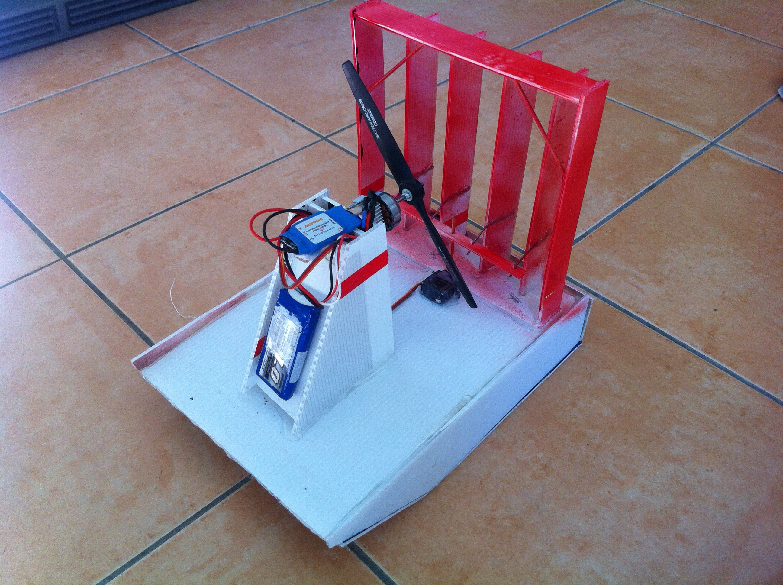 Coreflute RC Airboat