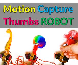 [Arduino Robot] How to Make a Motion Capture Robot | Thumbs Robot | Servo Motor | Source Code