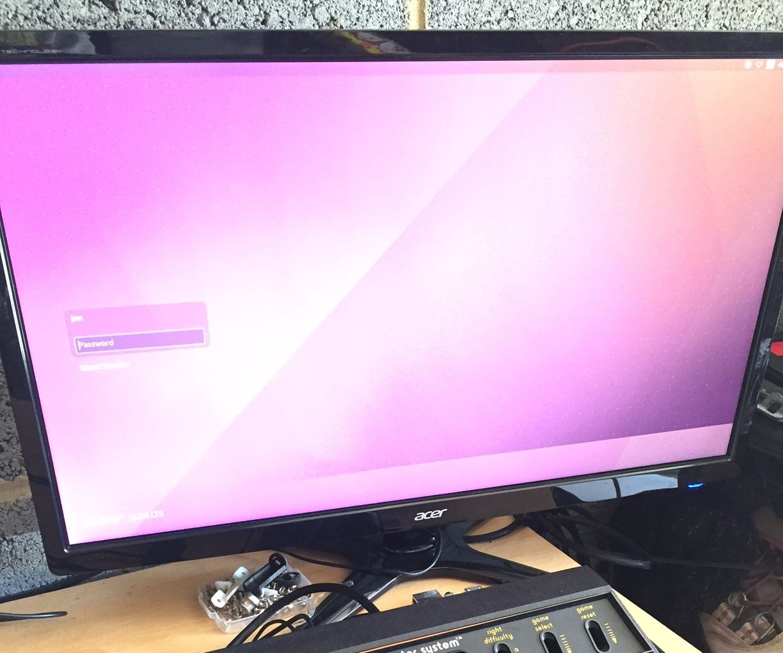 Atari 2600 Retro Gaming Media PC conversion with Linux Ubuntu