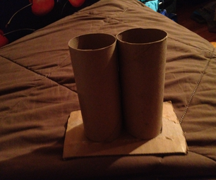 Tiolet Paper Roll Pen and Pencil Holder