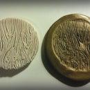 Polymer Clay Woodgrain Stamp