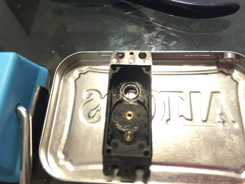 Gear Remove Process.