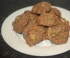 Chewy Apple and Cinnamon Oatmeal Cookies