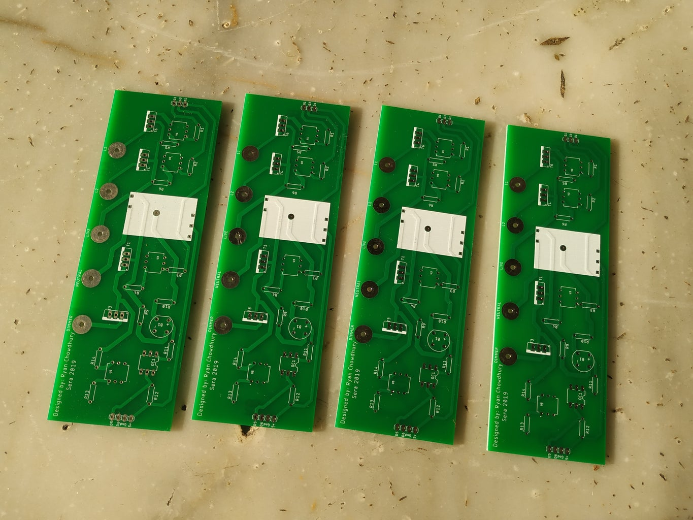 Getting PCB and Soldering of Components
