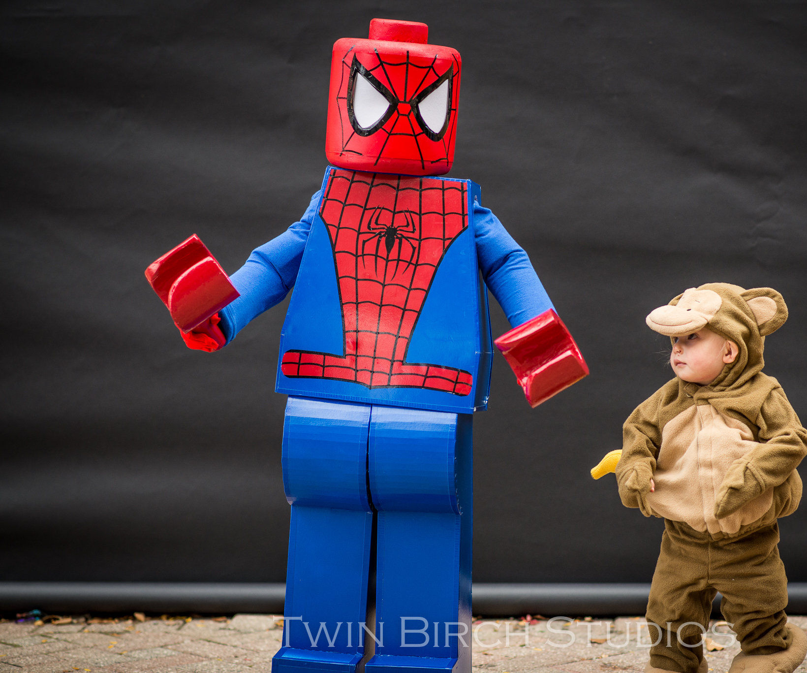 Lego Spider-Man Halloween Costume