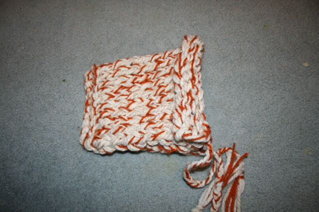 Lyra's Knit Hood