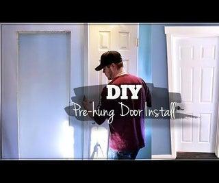 Install Pre-hung Interior Door, Start to Finish