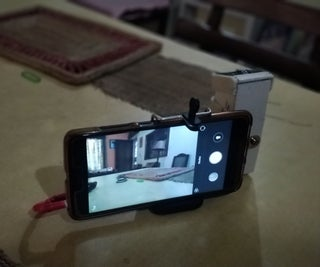 Ecofriendly SLR Grip for Phone Camera