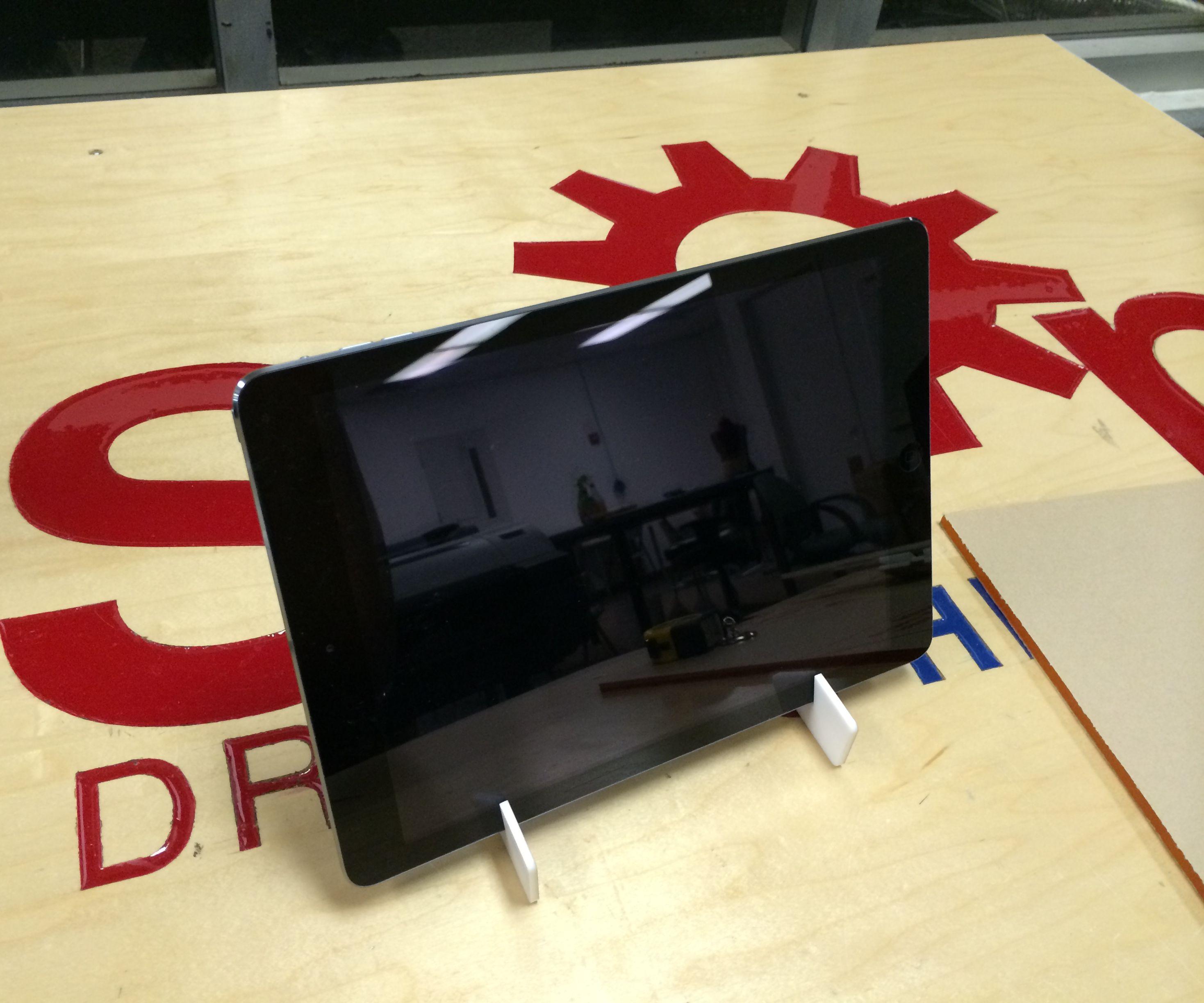 Laser-Cut Minimalist iPad Air Stand