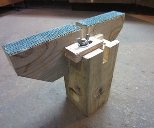 Portable Snowboard Tuning Stand/Vise