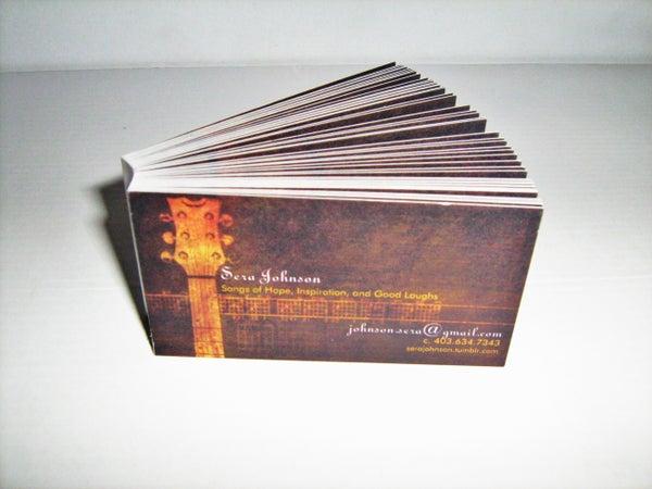 Tear-em-off Business Cards