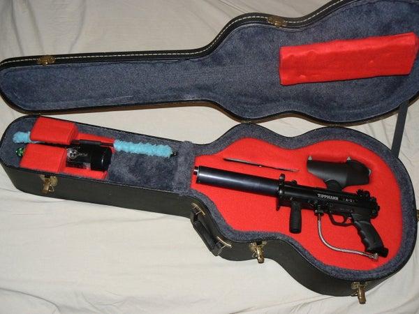 Paintball Guitar Case