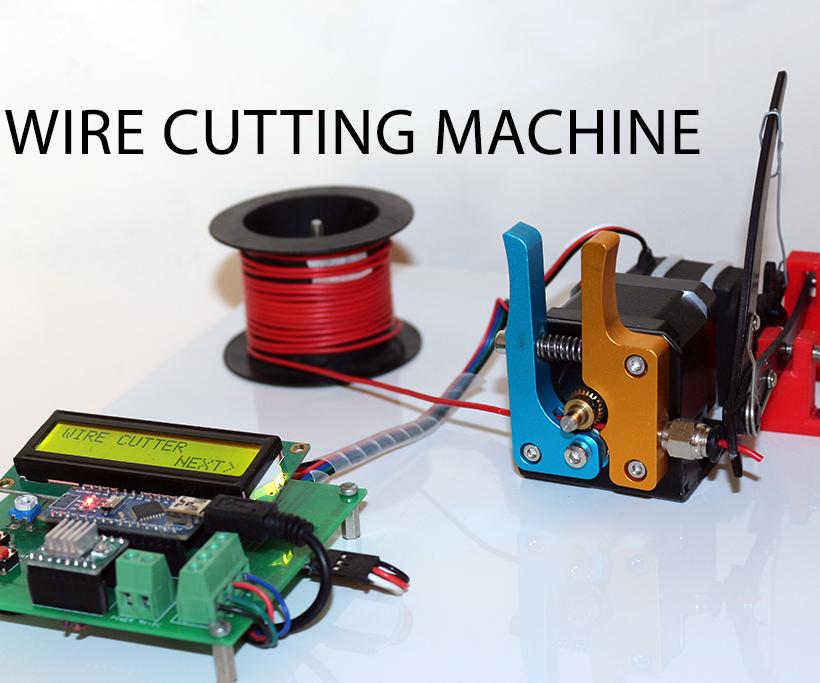 DIY Arduino Based Automatic Wire Cutting Machine