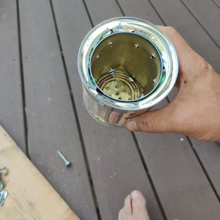 DIY Wood Gasifier Camp Stove