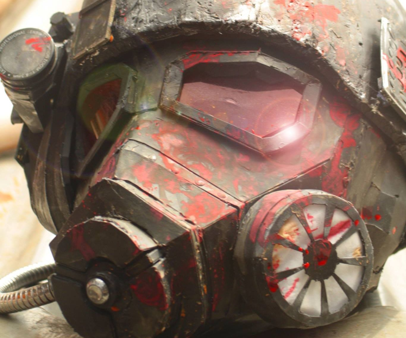 Fallout 2 Veterans helmet build