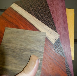 Day 1: Choosing the Wood, Drilling, Cutting, Gluing