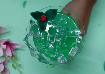 Mint Leaves Preparation  ( Candle # 2)