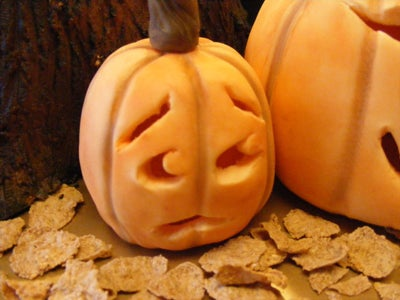 Making the Fondant Pumpkins