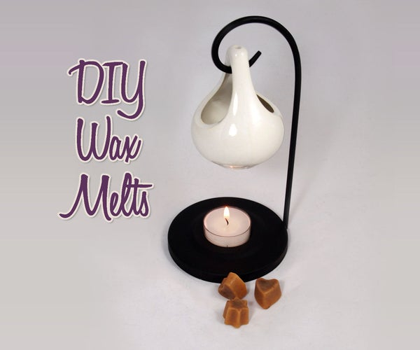 Homemade Scented Wax Melts