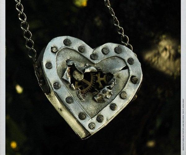 Steampunk Heart Necklace