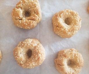 Irresistible Savory Sesame Cookies