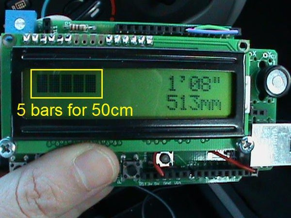 Arduino Reverse Obstacle Sensor for Cars