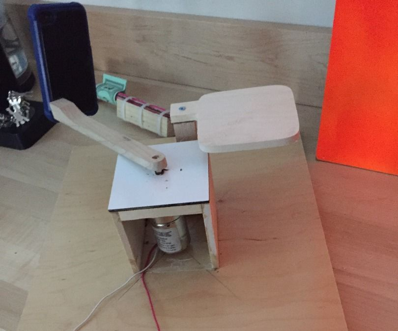 Spin n Scan, a simple 3-D modelling machine