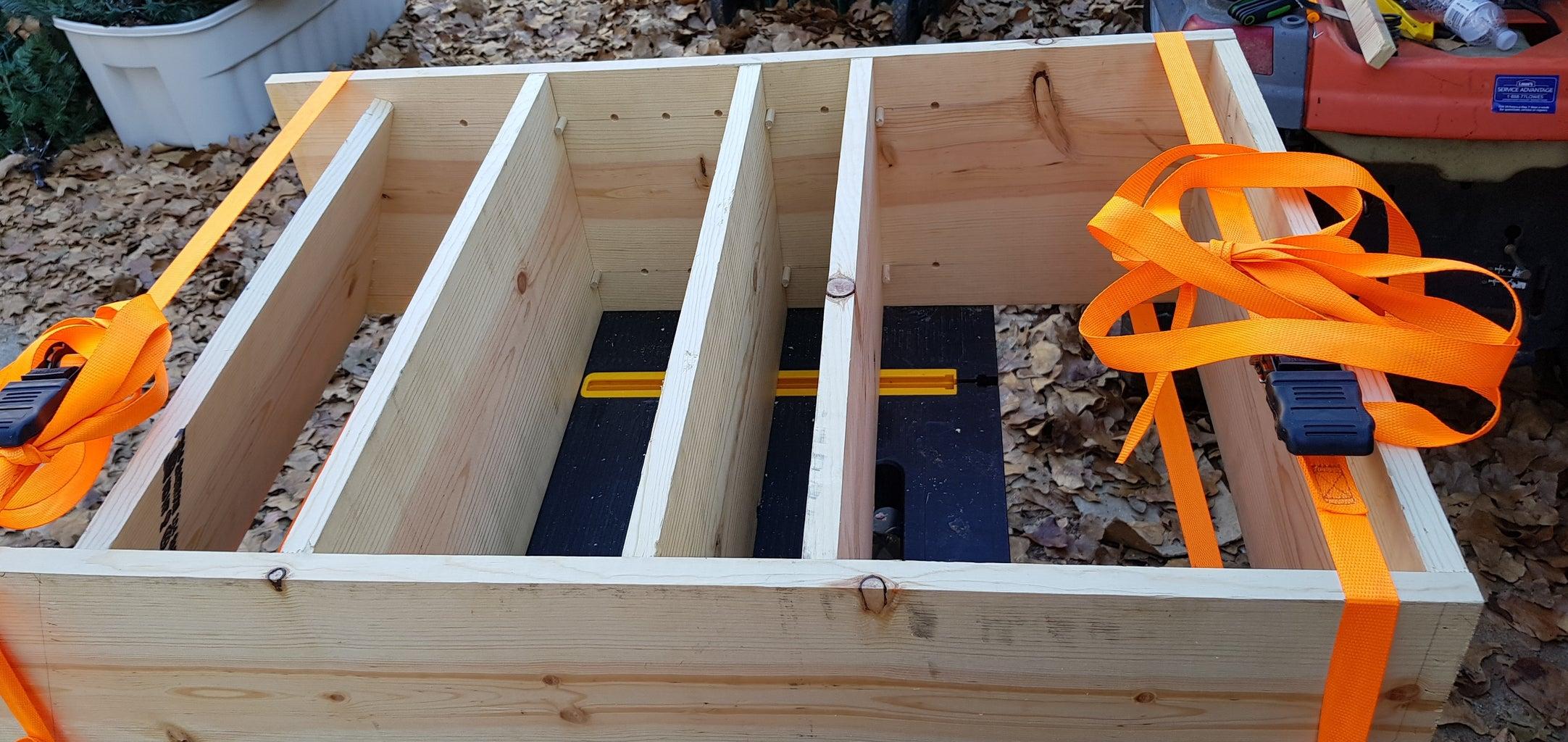 Cut Frame & Shelves