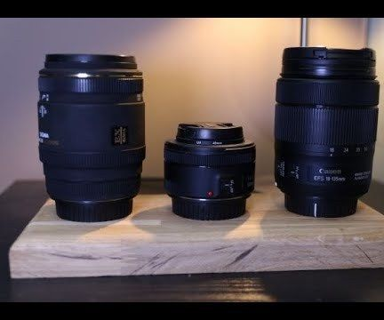 Safe and Secure Stand for Camera Lenses (Video Instructions)