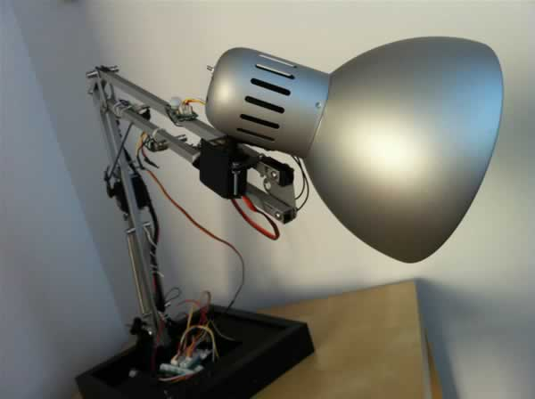The IKEA Robot Lamp
