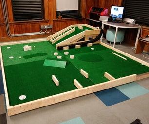 Modular Mini Golf Course