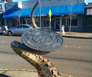 Tentacle Sculpture