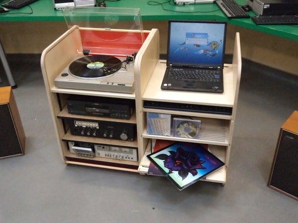 How to Make a Hi-Fi Cabinet