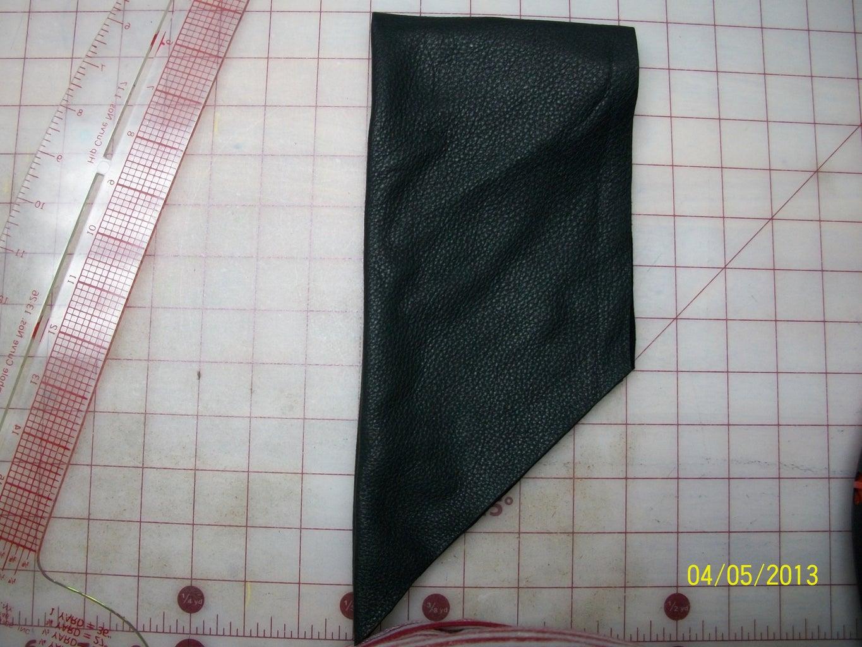 Fold Fabric, Mark / Cut Ends