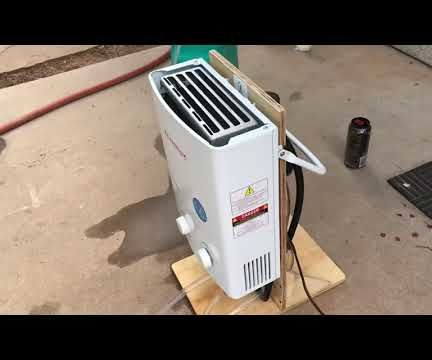 Portable Demand Use Hot Water Shower