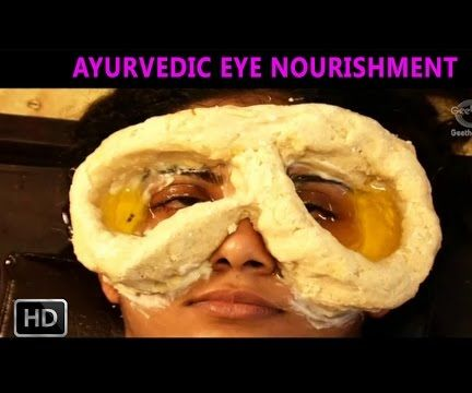 Ayurvedic Indian Massage - Akshi Tarpanam - Eye Massage