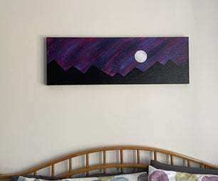 How to Paint a Galaxy and Mountains