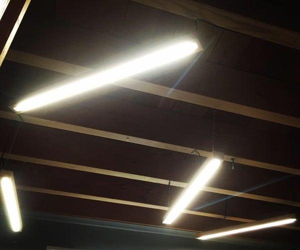 Modern 5-elements LED Lamp (bars)