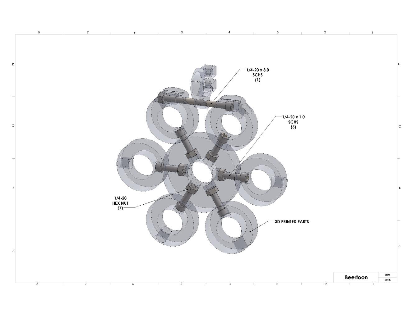 Assemble 3D Printed Parts
