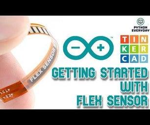 Interfacing Arduino With Flex Sensor and Servo Motor