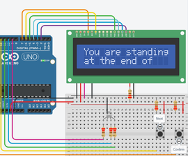 Create a Choice-based Text Adventure Game With Tinkercad Circuits